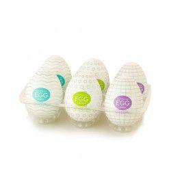 Masturbadores en forma de Huevos Juguetes para Hombres