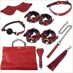 Bolso Kit de 9 piezas de BDSM