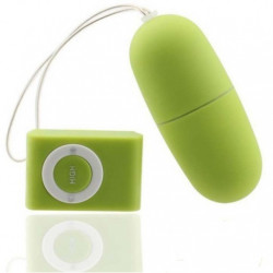 Huevito dilatador - pequeño vibrador - juguete con control remoto