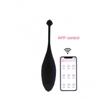 Huevito Vibrador con Mando en Aplicación Móvil   Juguete Unisex